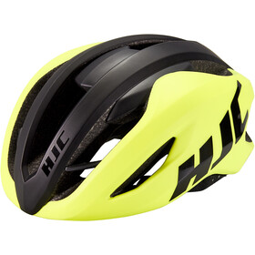 HJC Valeco Road Fietshelm, matt gloss yellow black